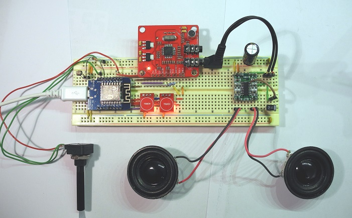 Arduino Internetradio / Wifi Radio / ESP8266 und VS1053 Badradio
